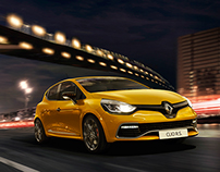 Renault Clio RS 2015 with S. Jahn