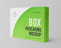 3 Free Box Packaging Mockups