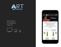 ART Canapé - Magento website