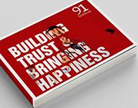 91 Healthcap Booklet Design