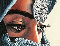 Afghani Girls Painting
