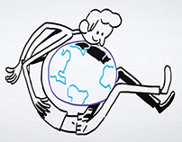 Whiteboard animation – Brussels airport 2040