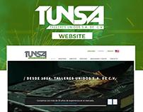 TUNSA | Website
