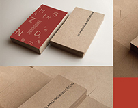 The Amazing Mr Anderson - business cards and logo