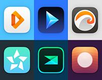 Minimalistic App Icons