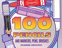 100 Pencils Project, Adobe Creative Residency
