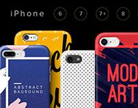 Mock UPs Cases iPhone 6, 7, 7plus, 8, X Set
