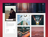 Redesign Instagram Web Profile