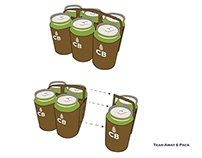 CB Beer Project on Adobe Illustrator (w/ Brainstorming)