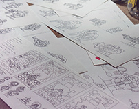 Sketches for Flat Game Design