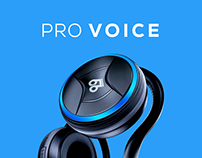 PRO Voice Site Design & Product Design