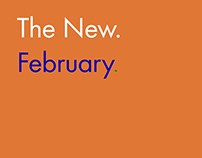 Jigsaw 'The New. February.'