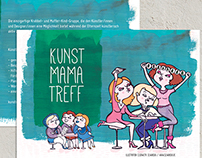 "Flyer ""Kunst-Mama-Treff"""