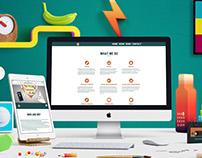 Website design Egghead Advertising