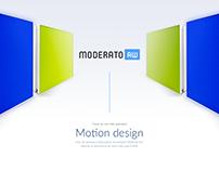 Moderato - Site web & motion