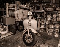 La bottega di Delfina... (Delfina's ironmonger shop)...