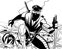 Ninjak Sample Pages