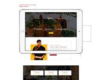 UX/UI Design - Kazu Restaurante