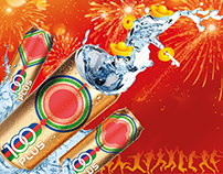 100 PLUS New Year Packaging