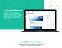 Email Marketing App Design