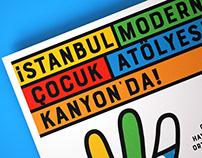 İSTANBUL MODERN ÇOCUK ATÖLYESİ KANYON'DA!