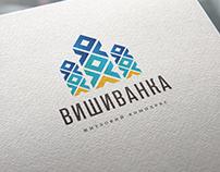 """apartment complex """"Vyshyvanka"""" logo&identity"""