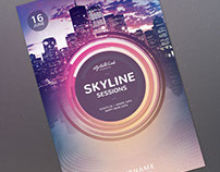 Skyline Sessions Flyer