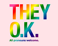 American Apparel THEY OK Campaign for LGBTQ