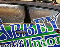 Abbey Credit Union Vehicle Wrap