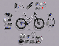 Bike Pack List - Scenario 1