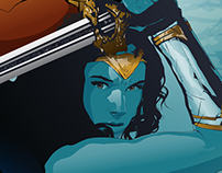 Wonder Woman | Vector alternative poster