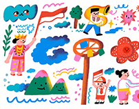 Google Doodle - Indonesia Independence Day 2020