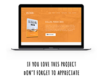 AuthorL Book Landing Page