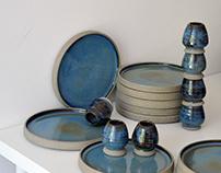 Zhao Zhou blue ceramics