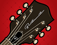 bert hamster hollow guitar
