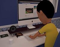 spot d'animation 3D de sensibilisation