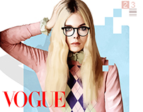 Ilustraciones Vogue México, Julio 2016.