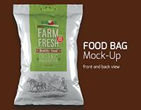Food Bag Mock-up