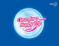 Clean for a Happy Trip Contest
