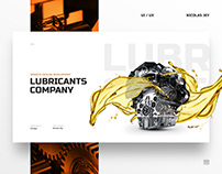 Internet catalog. Store. For lubricant company