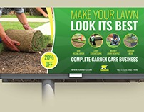 Garden Services Billboard Template Vol.2