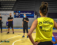 Día 1 Pretemporada Aguere Ciudad de La Laguna