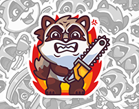 RALPH. Vkontakte stickers set – 2014