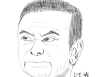 Portrait exercise from a news photo