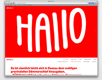 BÜROHALLO Website