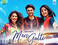 Song Poster Design- Meri Galti