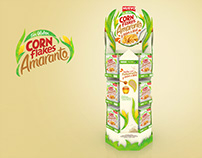 CORN FLAKES FLOOR STAND