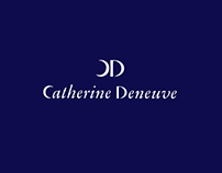 Catherine Deneuve. Logo design.