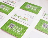 Branding of vegan restaurant