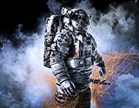 Retoque Astronauta